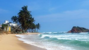 mirissa beach - one of the best beaches in sri lanka